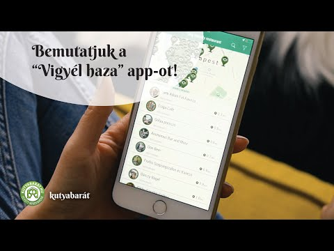 Bemutatjuk a Vigyél Haza Kutyakereső applikációt!