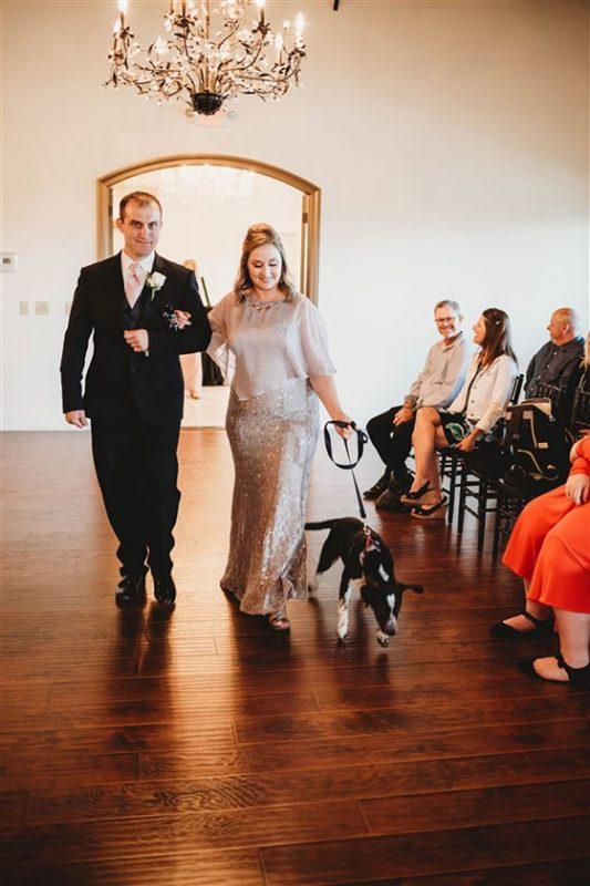 kutyás esküvő