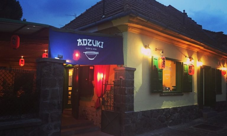 kutyabarát étterem ADZUKI Sushi és Wok