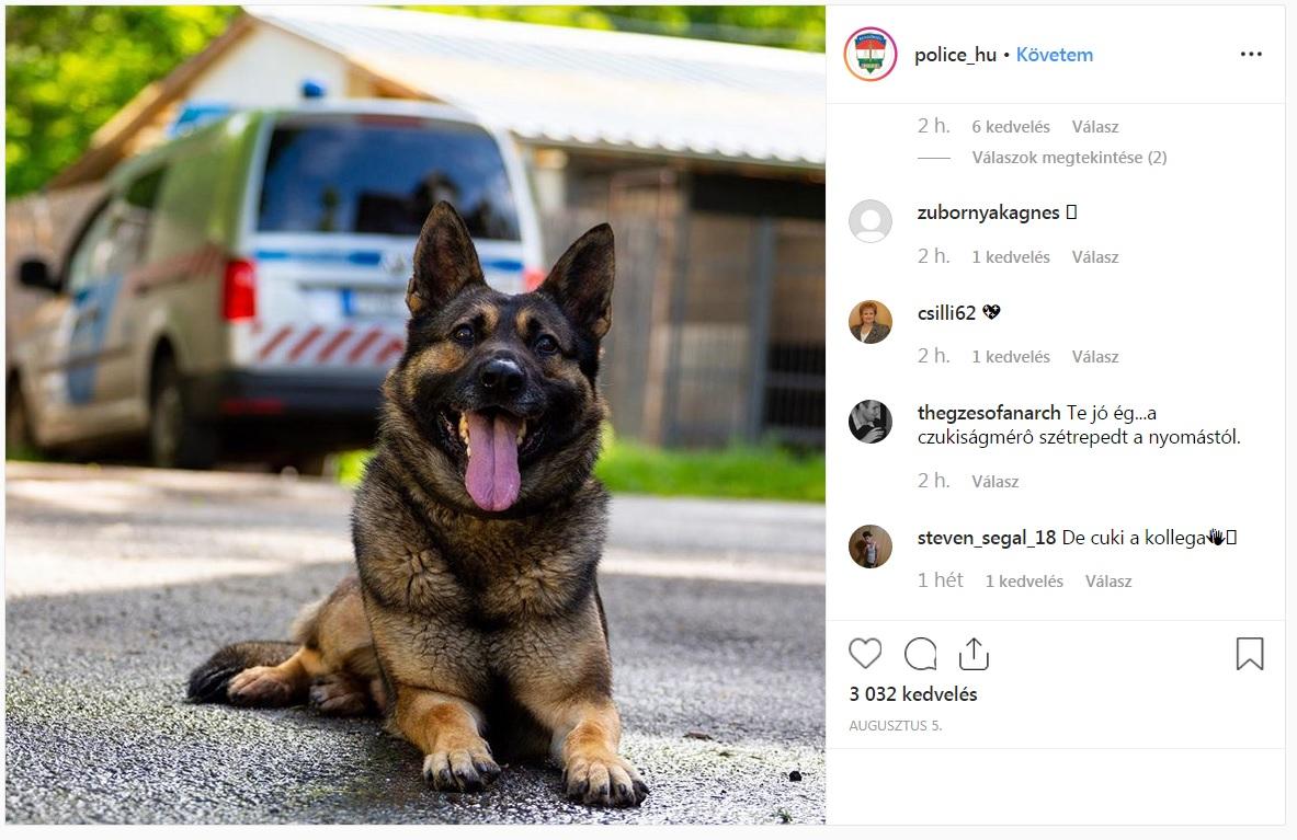 police.hu kutyabarát