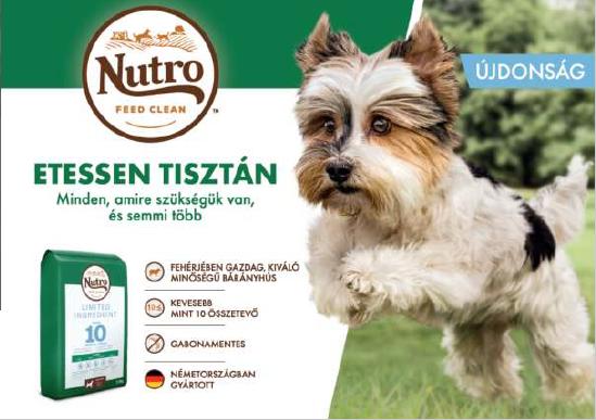 Nutro kutyatáplálás