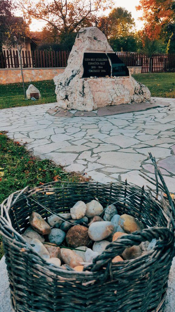 zsinagóga emlékhely Csákvár