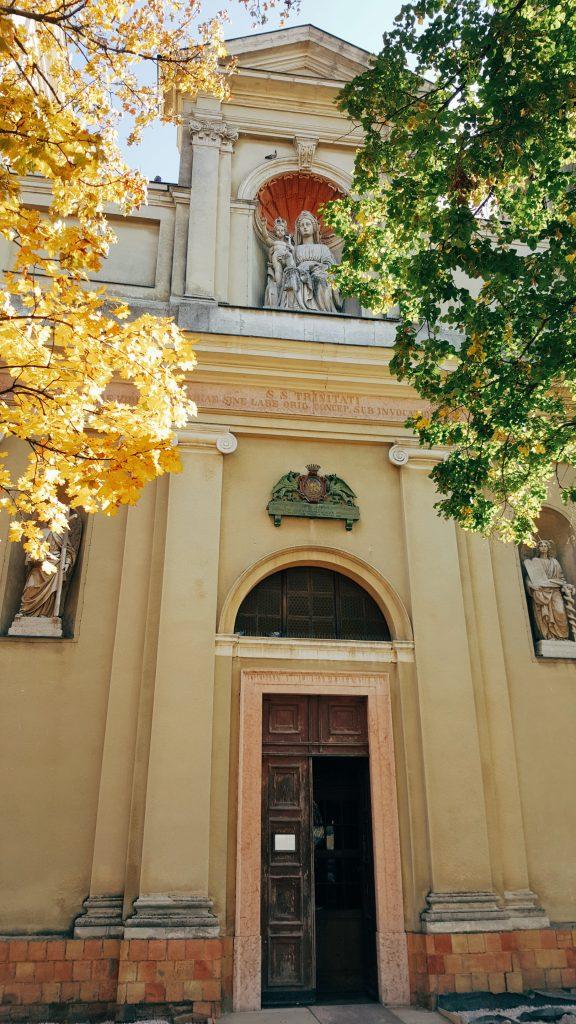 barokk templom Csákváron