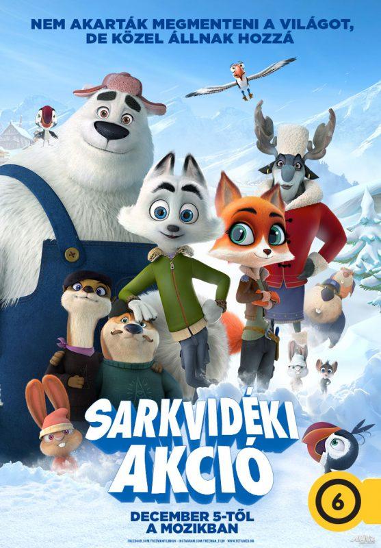családi animációs film