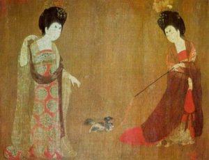 ősi öleb kínai palotapincsi - kutyafajták