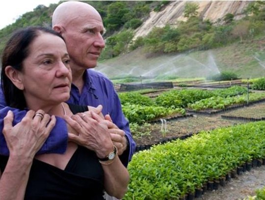 Salgado és felesége