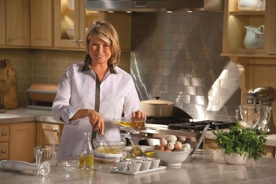 martha stewart a konyhában