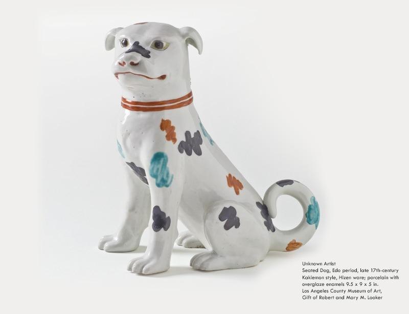japán edo korszak kutyaszobor