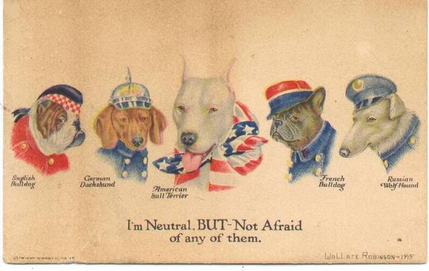 Első világháború propaganda plakát