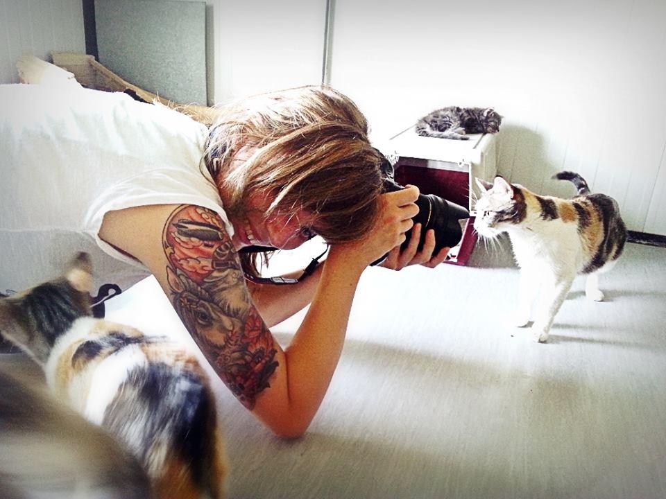 laboratóriumi állatokat fotóz