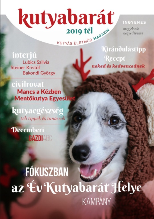 kutyabarát magazin 2019 tél