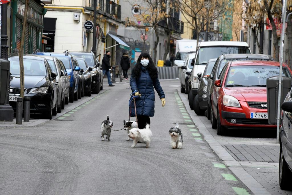 kutyasétáltatás karantén