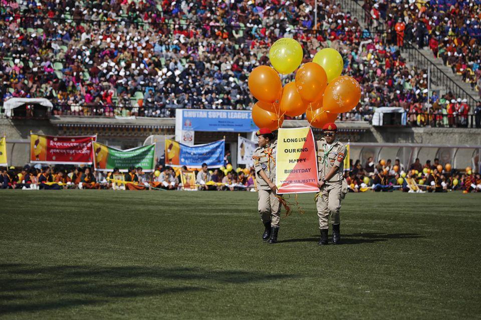 Bhutáni király születésnap
