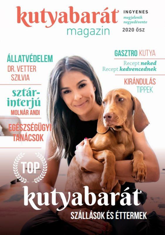 kutyabarát magazin ősz 2020